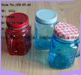Trinkendes Maurer-Glas