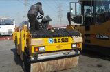 Rolo de estrada dobro da vibração do cilindro de Mchinery 10ton da construção
