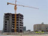 Кран башни здания нагрузки Qtz80 Tc6018 8t