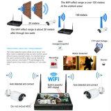 os sistemas de segurança 1080P Home 8CH terminam a câmera sem fio do IP de WiFi do jogo do CCTV