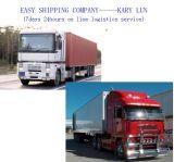 O mais baixo frete custado para serviços de transporte por caminhão