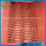 シュレッダー機械をリサイクルする不用なプラスチックかゴムまたは木またはタイヤ