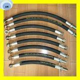 Hydraulische flexible Schlauch-Baugruppe, Schlauch mit Befestigungen an beiden Enden