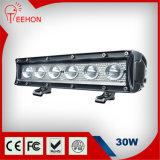 30W barra chiara ambrata di bianco LED