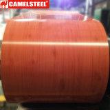 O projeto de madeira Prepainted a bobina de aço galvanizada para a decoração