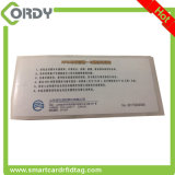 Double side printing RFID UHF Windshield Tag