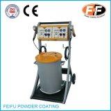 Máquina de revestimento eletrostática do pó com sistema dobro do injetor
