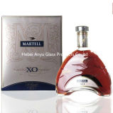 botellas de cristal por encargo de vino 700ml para la vodka, Tequila, brandy, whisky, vino, ron