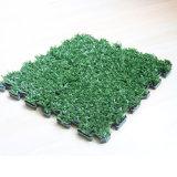 Enclavamiento de plástico Césped Artificial Mat