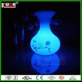 Colorare il vaso d'attaccatura decorativo controllabile di RGB della lampada con l'illuminazione LED