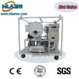 Système de filtration d'huile à transformateur de déchets à vide simple