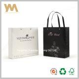 LuxuxCostomized Papiergeschenk-Einkaufstasche mit der Hand