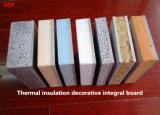 Панель стены доски термоизоляции декоративная