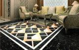 Azulejo de suelo de piedra de mármol esmaltado de la porcelana del material de construcción