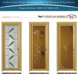 Simple Design Glass Panel Aluminum Casement for Door House Decoration