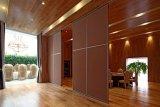 Parede móvel de dobramento de alumínio de /Acoustic da divisória para o hotel/restaurante/banquete Salão
