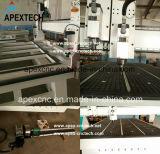 2030-2 ranurador de madera del CNC del Atc de las pistas con el eje de rotación de 4.5kw Hsd Aircooling