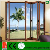 Portello di piegatura Windows di alluminio e portelli con doppio vetro Pnocfd0025