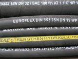 SAE 100 R2 au boyau hydraulique en caoutchouc à haute pression (2SN)
