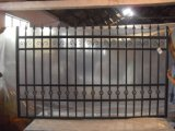 住宅の粉安い価格の上塗を施してある鋼鉄およびアルミニウム塀