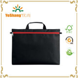 600d Polyester Zip Lock Simple Document Bag mit Cutomers Logo