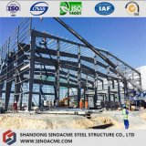 Construction en acier avec mezzanine