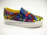 Mehrfarbennizza Frauen-Plattform-Schuhe mit Beleg auf (ET-LD160133W)