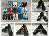 A melhor qualidade usou sapatas usadas usadas alta qualidade do creme das sapatas do esporte das sapatas tamanho grande
