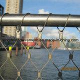 Сетка кабеля нержавеющей стали AISI316