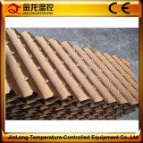 As aves domésticas de Jinlong abrigam o sistema da almofada refrigerar evaporativo para o baixo preço da venda
