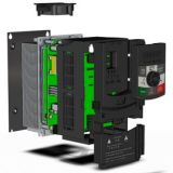 Mini tipo frecuencia Inveter la monofásico del regulador de la velocidad del motor de 750W