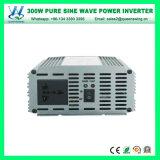 CC 12V all'invertitore puro di energia solare dell'onda di seno di CA 220V 300W (QW-P300)