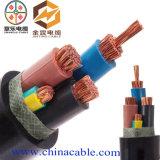 Cable de goma flexible de la baja tensión con el conductor de cobre para la rafadora