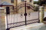Puerta de jardín ornamental del hierro de la alta calidad
