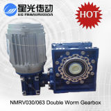 Nmrv Verkleinerungs-Aluminiumfall-Wurm-Getriebe