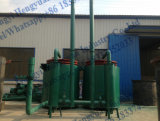 Máquina de bambu da carbonização dos carvões amassados do carvão vegetal de madeira