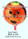 Воздушный шар Mylar фольги тыквы (10-SL-147)