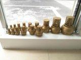 """1/2 """" - 3 """" forjaram a válvula de aspiração de bronze da água para a água/"""