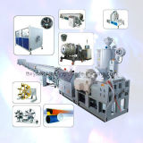 Máquina plástica de la protuberancia del Línea-PVC del tubo