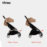 Einzelner vorderes Rad-Stahlgefäß-Baby-Spaziergänger