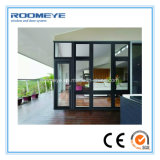 Guichet en aluminium de tissu pour rideaux de modèle neuf chaud de vente de Roomeye/guichet en aluminium