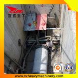 油送管のトンネルの退屈な機械装置