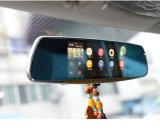 2016 7 pulgadas Vista posterior de navegación GPS androide Espejo video del coche