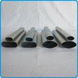Tubos ovales inoxidables del plano de acero para el vector de funcionamiento