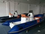 Boot 520 van de Rib van de Vloer van Liya Open de Materiële Rubberboot van pvc