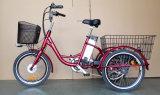 электрический трицикл 20inc для взрослого