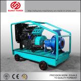 bomba de agua diesel 6inch para la irrigación agrícola con el acoplado