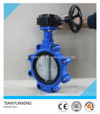 Disco de aço inoxidável Soft Sealed Casting Body Lug Butterfly Valve