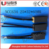 Meilleur Quality Carbon Brush Ncc634 pour Power Plant Motor Generator Use