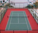 Itfの証明書が付いているカラー不変および身につけられるテニスコート